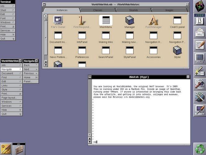 WorldWideWeb fue el primer navegador