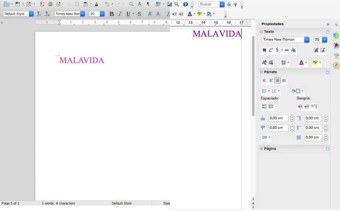 Writer LibreOffice vs OpenOffice