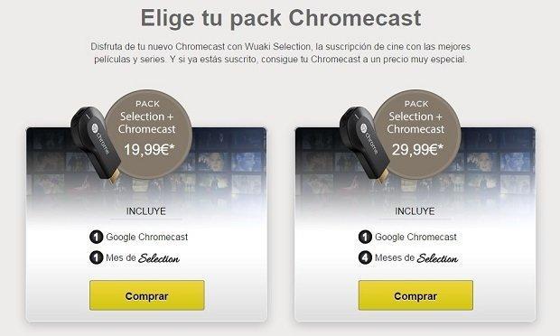 Wuaki.tv + Chromecast es una de las grandes bazas de Wuaki