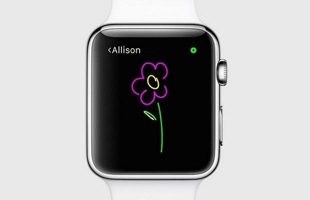 Ya puedes mandar dibujos de colores con tu Apple Watch