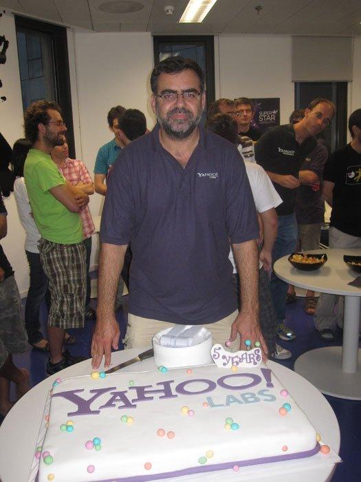 Yahoo! Labs Barcelona Celebración 3