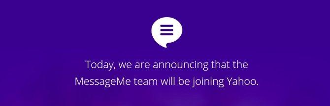 Yahoo! ya tiene su WhatsApp, se llama MessageMe - imagen 2