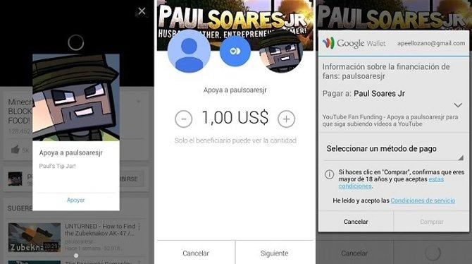 #YouTube ya permite realizar donaciones a creadores de contenidos - imagen 2