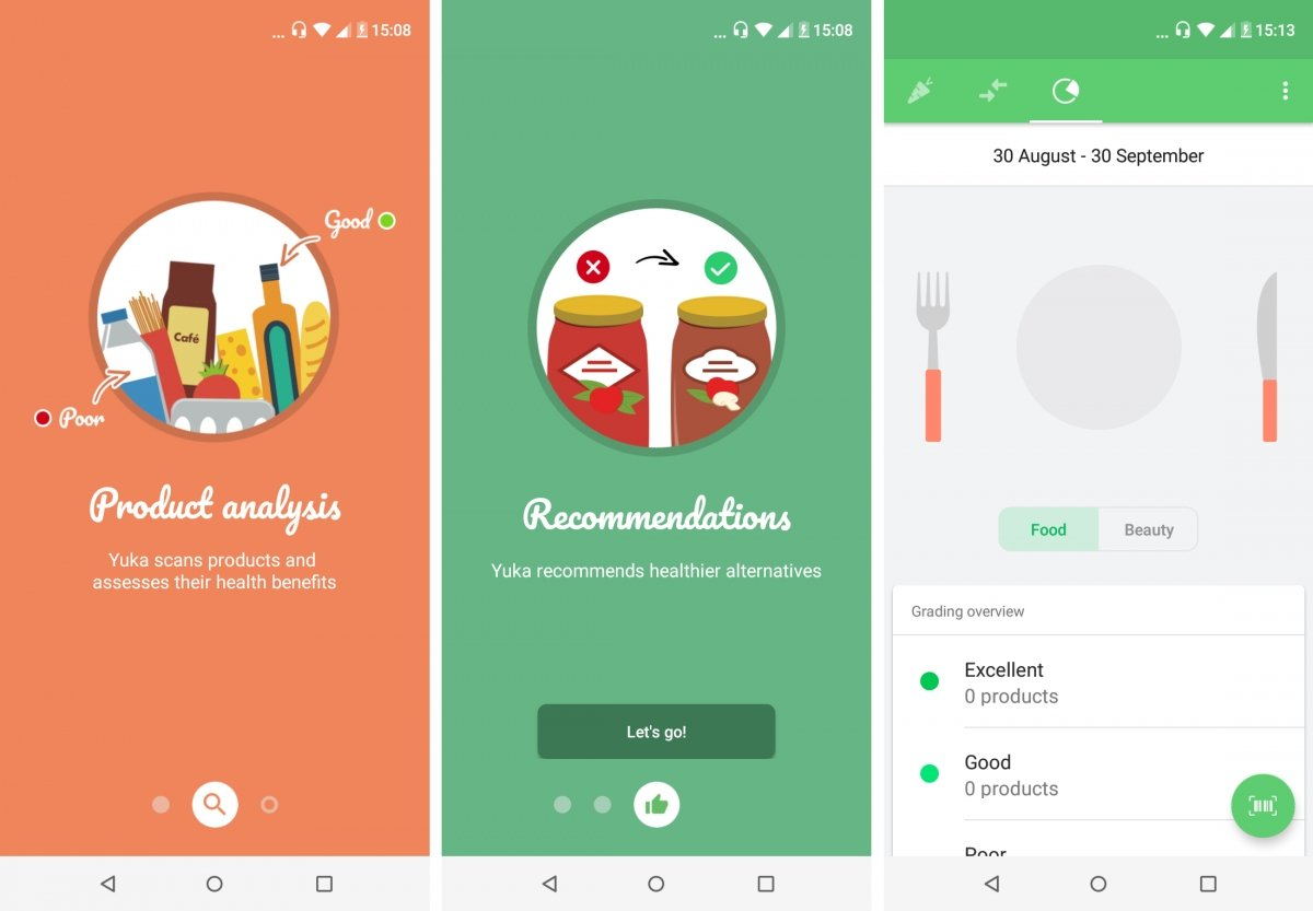 Yuka is an app to eat better and healthier