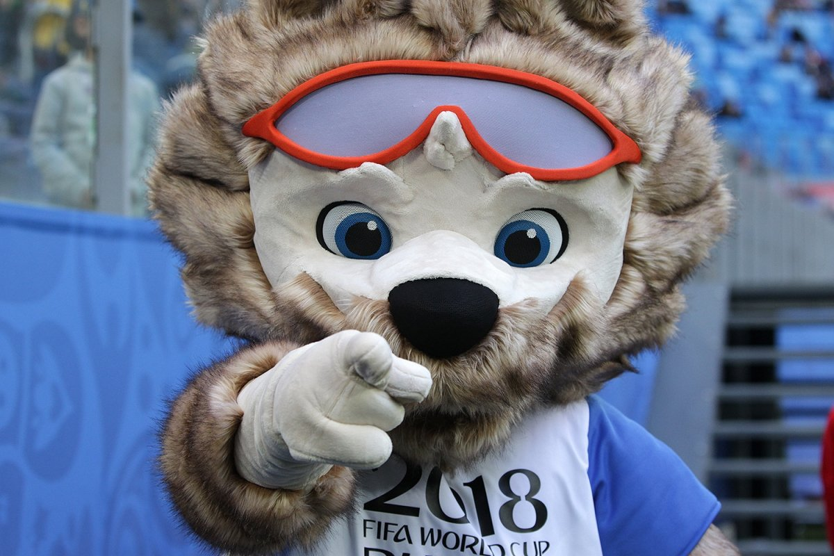 Zabivaka, la mascota oficial del Mundial
