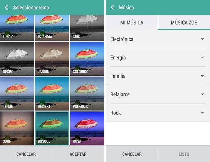 Zoe, la aplicación de remezcla y edición de vídeos de HTC - imagen 4