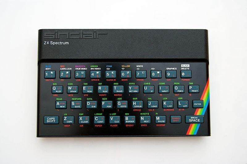 ZX Spectrum 48K, uno de los ordenadores personales más codiciados de su época