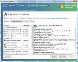 Windows Defender en Vista