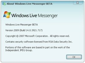 Windows Live Messenger 9