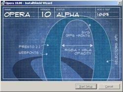 Opera 10 Alpha 1