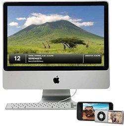 Tv en iMac