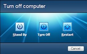 Configurar el apagado de Windows 7
