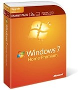 Family Pack Windows 7