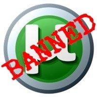 uTorrent Baneado