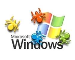 Windows bugs