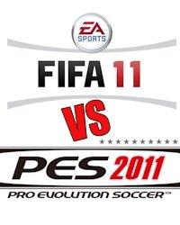 FIFA 11 vs PES 2011