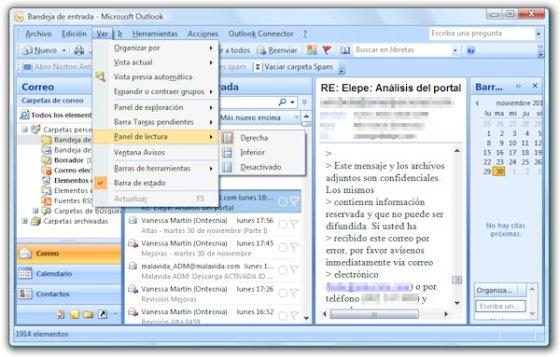 Denegación servicio Outlook 2007