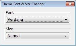 Theme Font & Size Changer1
