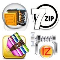 Cuatro opciones para crear archivos archivos autoextraíbles