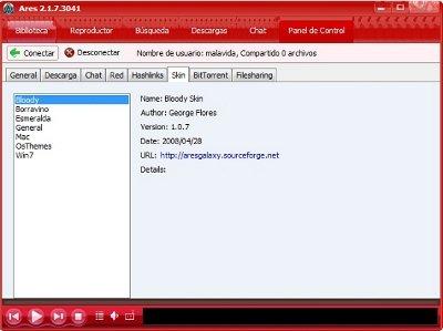 Instalar y configurar Ares en Windows 7. Id_29710_Ares4