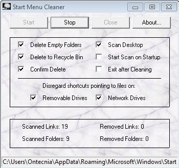Start Menu Cleaner 1