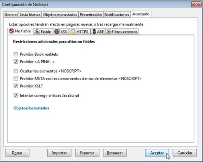 NoScript 3
