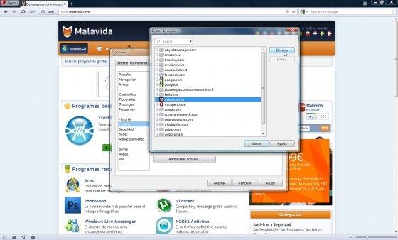 Configurar Opera para máxima privacidad