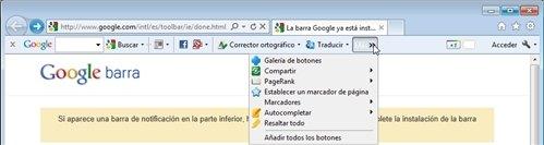 Barra de Google 3