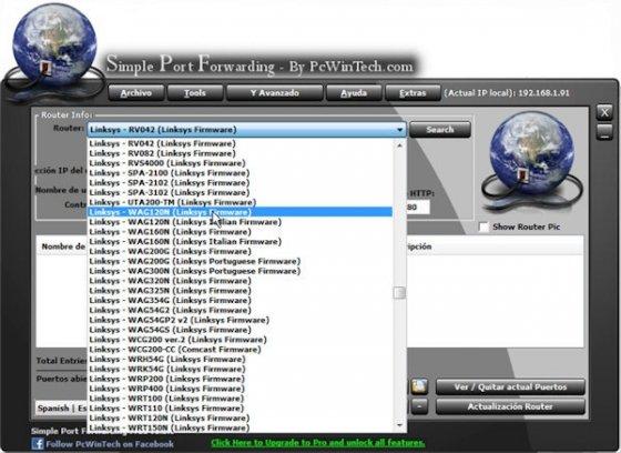 Abre los puertos en tu router 2