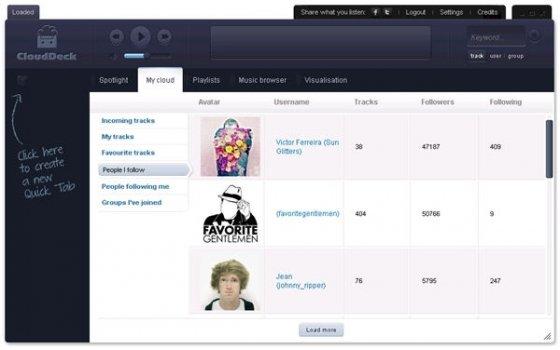 Un navegador especializado en música - 5
