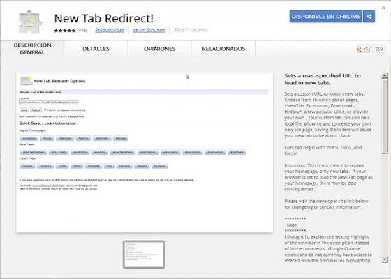 Cómo personalizar la nueva pestaña en Chrome 2