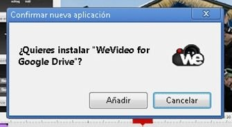 Sincronizar WeVideo y Google Drive - 2