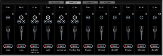 Samples Virtual DJ - 1