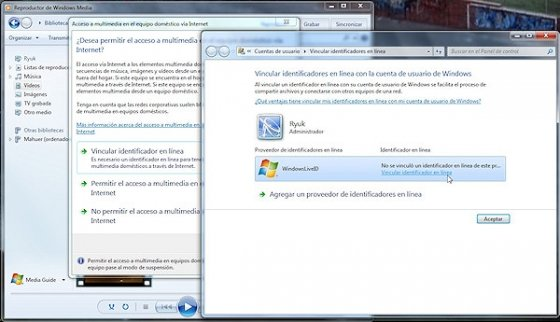 Servidor DLNA en Windows 7 2