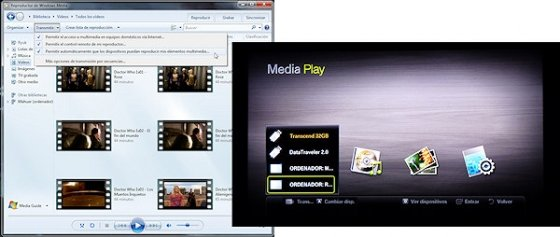 Servidor DLNA en Windows 7 7