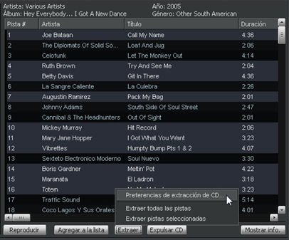 Ripear CDs de audio con Winamp - 4