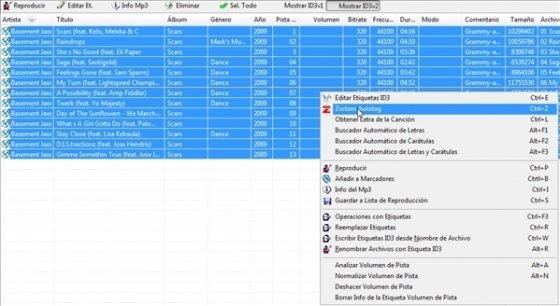 Etiquetar MP3 de forma automática 3