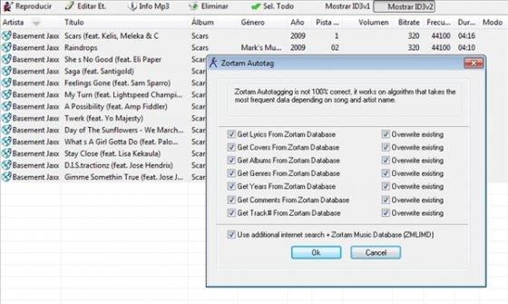 Etiquetar MP3 de forma automática 4