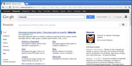 Personalizar la barra negra de Google 1