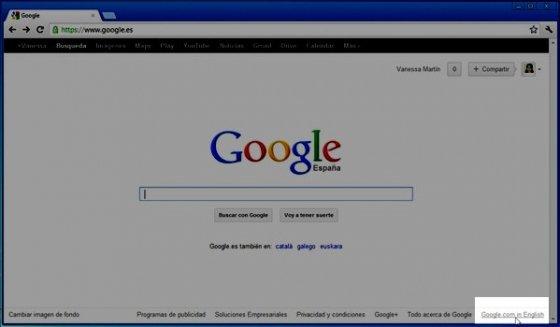 Personalizar la barra negra de Google 31