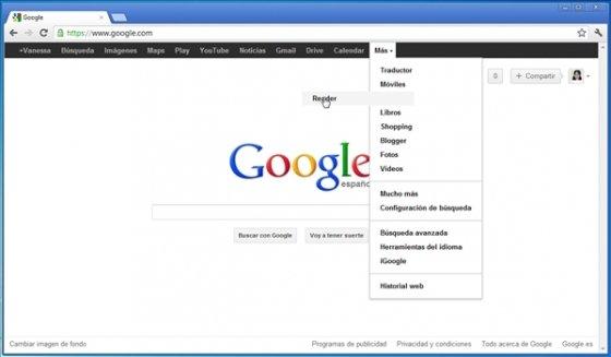 Personalizar la barra negra de Google 4