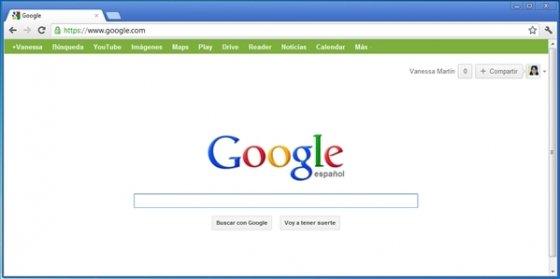 Personalizar la barra negra de Google 6