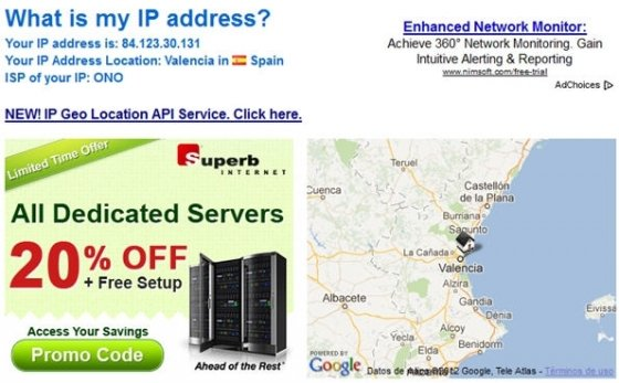 Localizar IP - 2