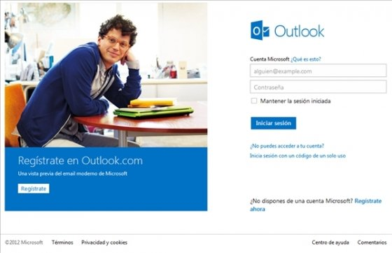Cambiar de Hotmail a Outlook.com 1
