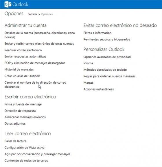 Cambiar de Hotmail a Outlook.com 3