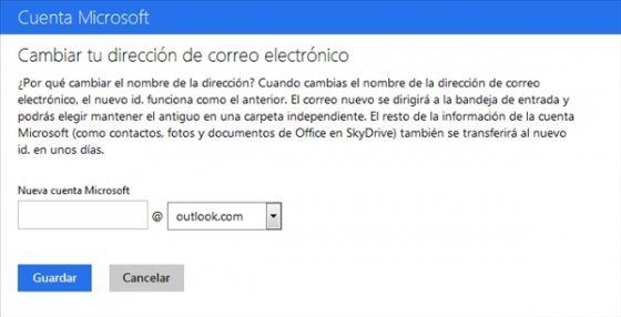 Cambiar de Hotmail a Outlook.com 4