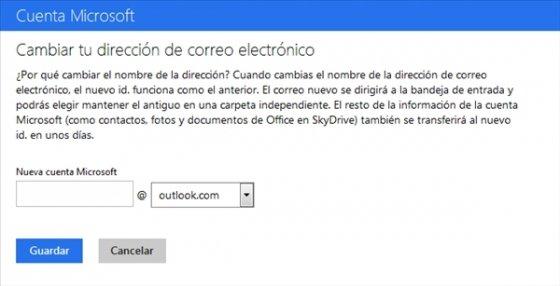 Cambiar de Hotmail a Outlook.com 4