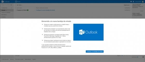 Cambiar de Hotmail a Outlook.com 5