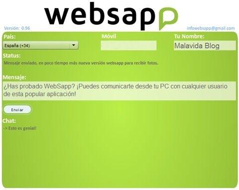 Enviar mensajes de WhatsApp - 1