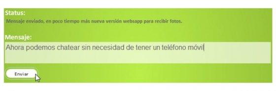 Enviar mensajes de WhatsApp - 3